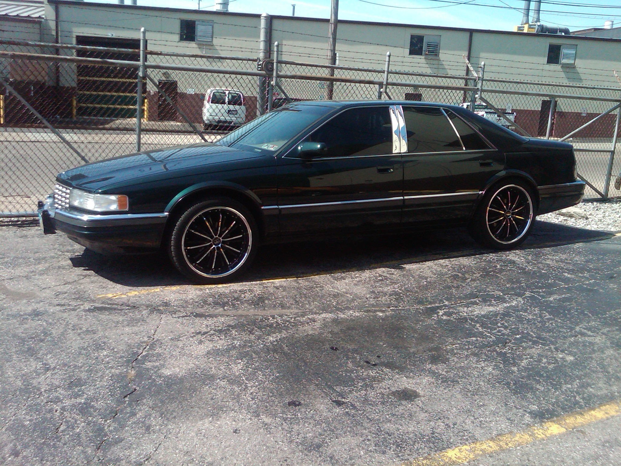 1996 Cadillac SLS Forest Green 139000 Miles For sale